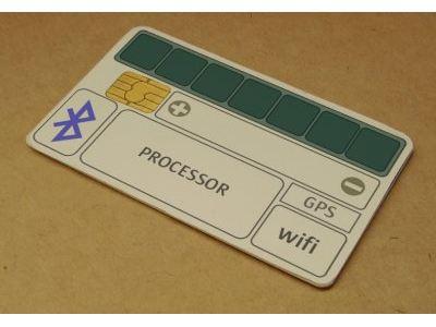 Ordenador de Sun del tamaño de una tarjeta