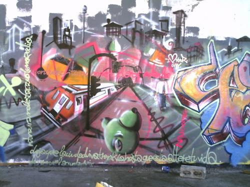 Graffiti del Acme
