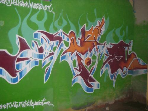 Graffiti del Akor