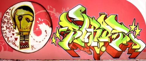 Graffiti del Kapone