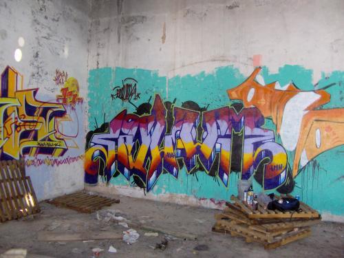 Graffiti del Fulano en Valladolid