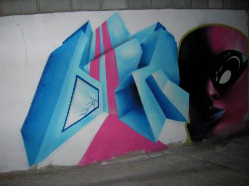 Graffiti del Timankl
