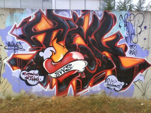 Graffiti del Tonk