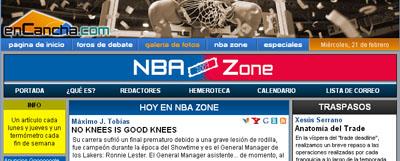 NBA Zone 2007 Baloncesto enCancha