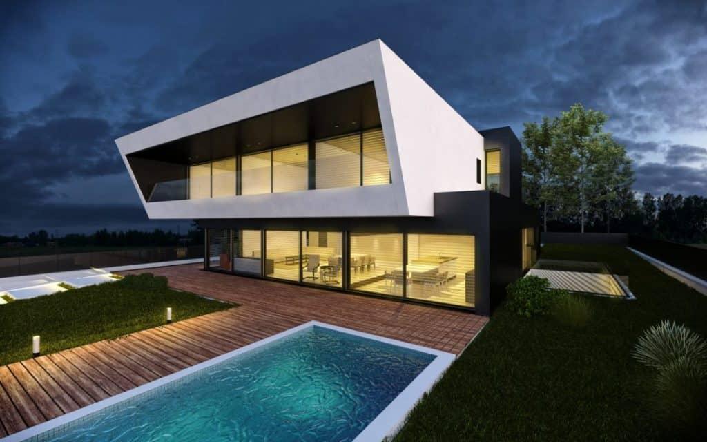 Vivienda modular prefabricada de hormigón