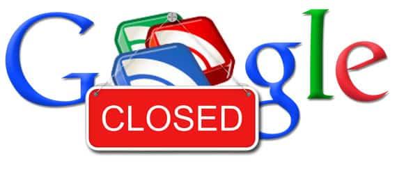 Servicios que Google ha cerrado desde 2007